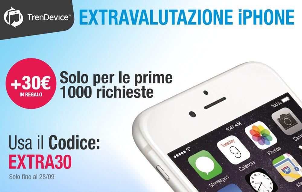 Tornac l'extravalutazione su TrenDevice: solo per iPhone e solo le prime 1.000 richieste.