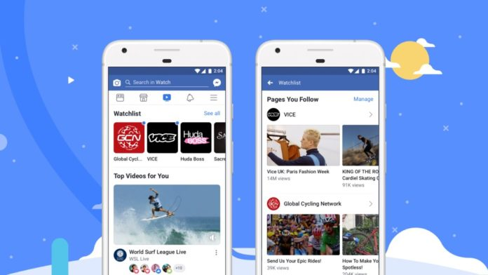 Facebook Watch, la piattaforma video di Facebook, disponibile in tutto il mondo
