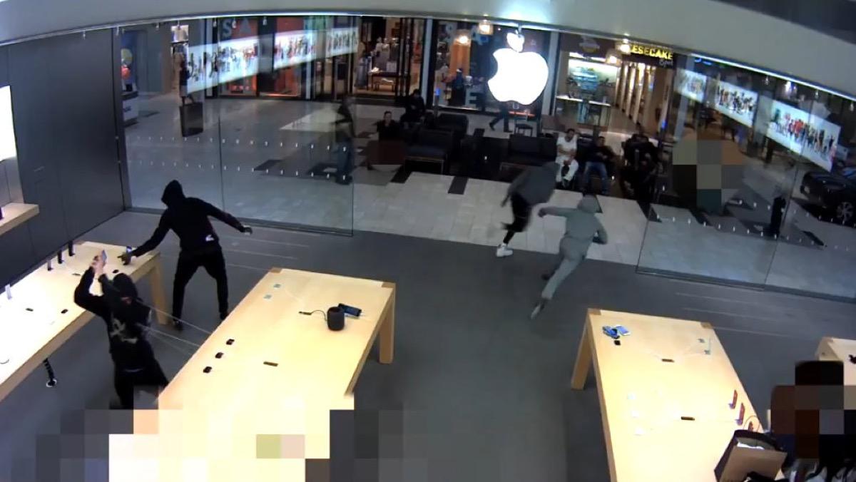 ladri degli Apple Store, mega arresto in California