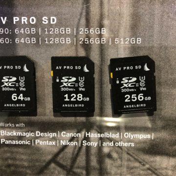 Angelbird offre memorie di alto livello per professionisti foto e video
