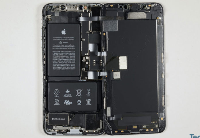 Interno iPhone XS Max