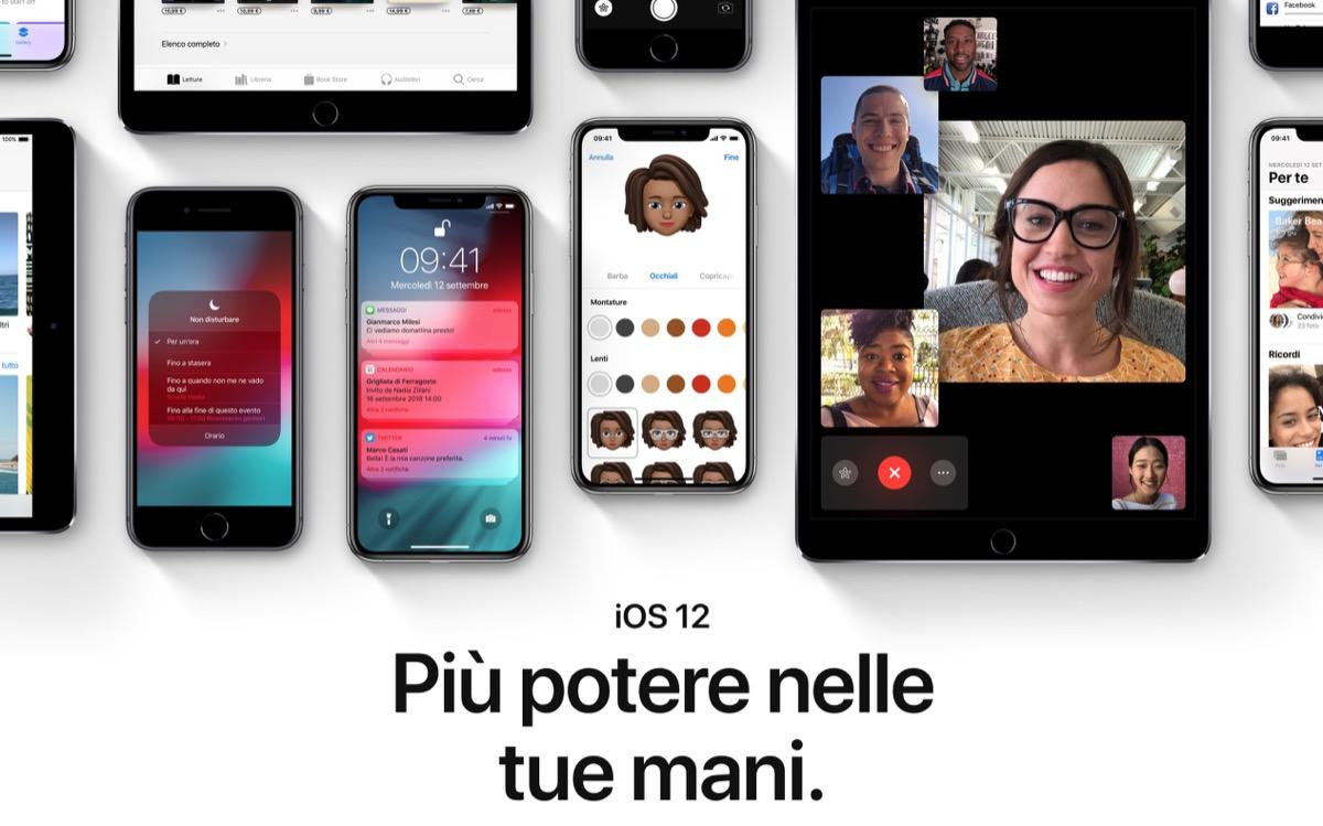scaria ios 12 - Oggi arriva iOS 12: ma a che ora?