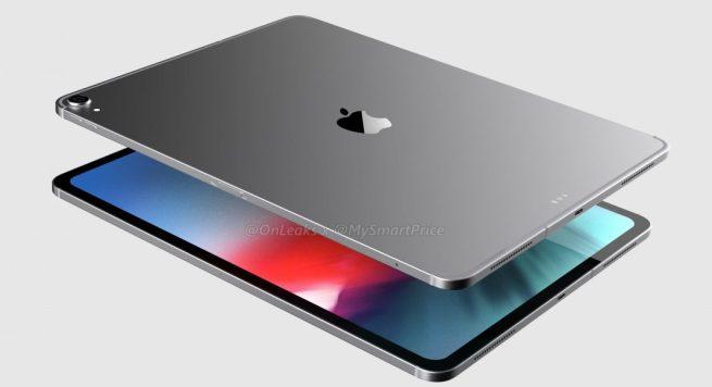 Ecco come appare oggi iPad Pro 2018 da 12,9 pollici, antenne stile iPhone