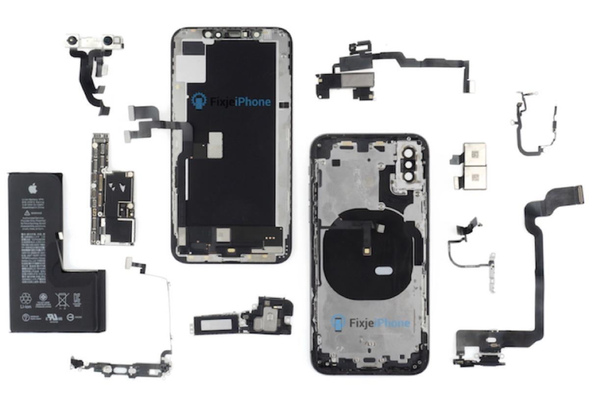 iPhone XS smontato somiglia tanto a iPhone X ma con una differenza