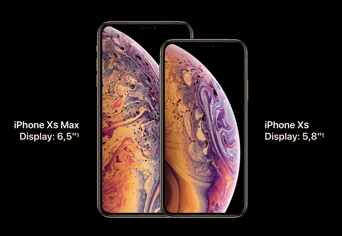 Apple presenta iPhone Xs e iPhone Xs Max