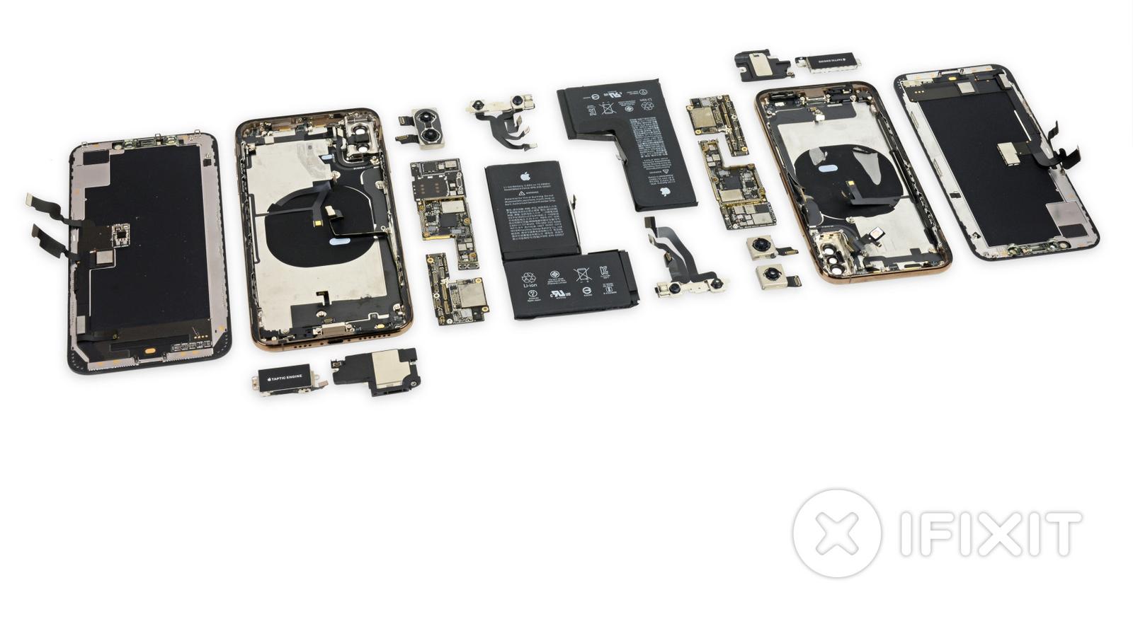 I nuovi iPhone XS e iPhone XS Max già smontati