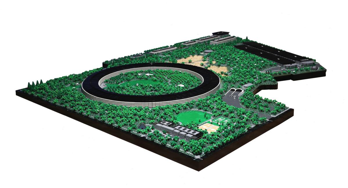 LEGO Apple Park è una meraviglia per malati Apple