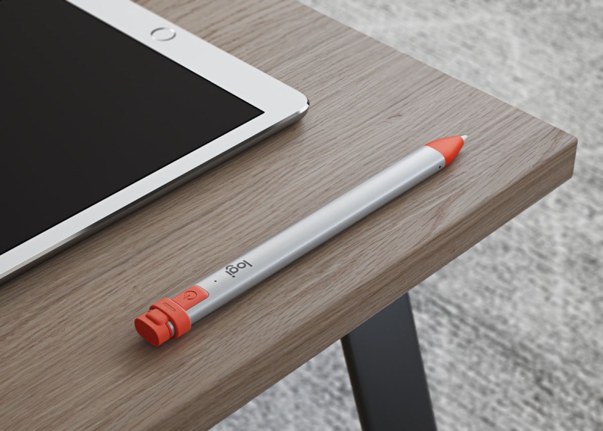 Logitech Crayon, l'alternativa ad Apple Pencil arriva per tutti anche in Italia