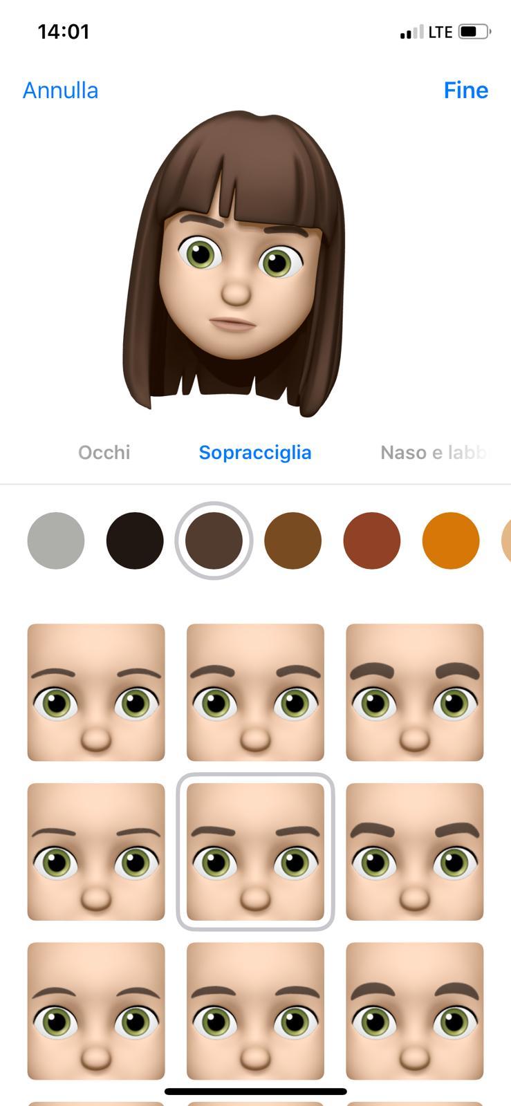 Come creare Memoji in iOS 12