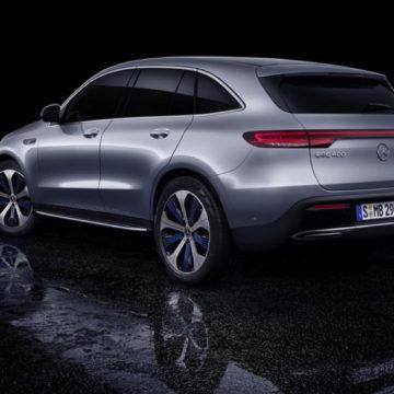 Mercedes EQC 400 è il primo SUV elettrico del marchio: inizia una nuova era