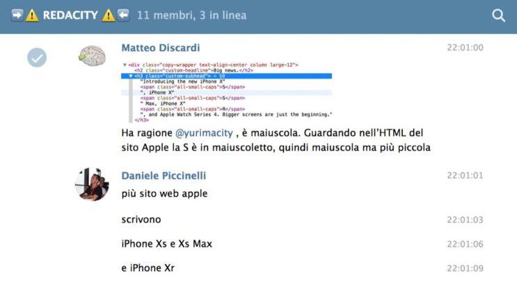 iPhone XS, iPhone XS Max e iPhone XR, dubbio sciolto: si scrivono così