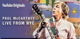 Paul McCartney in concerto su Youtube il 7 settembre 2018