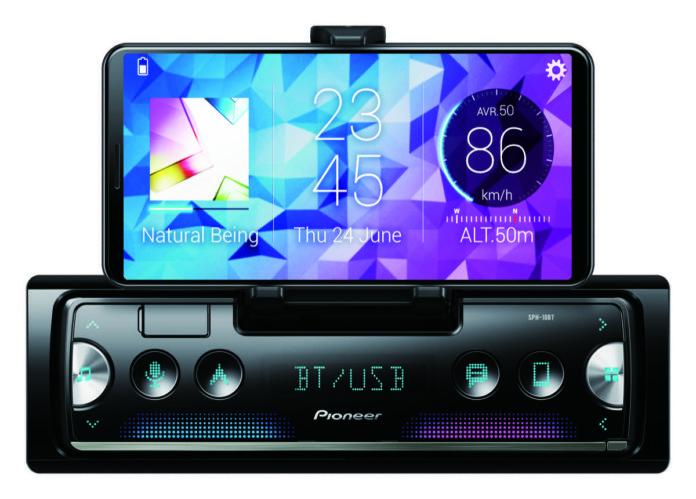 Autoradio Pioneer SPH-10BT, con lo smartphone è quasi un CarPlay