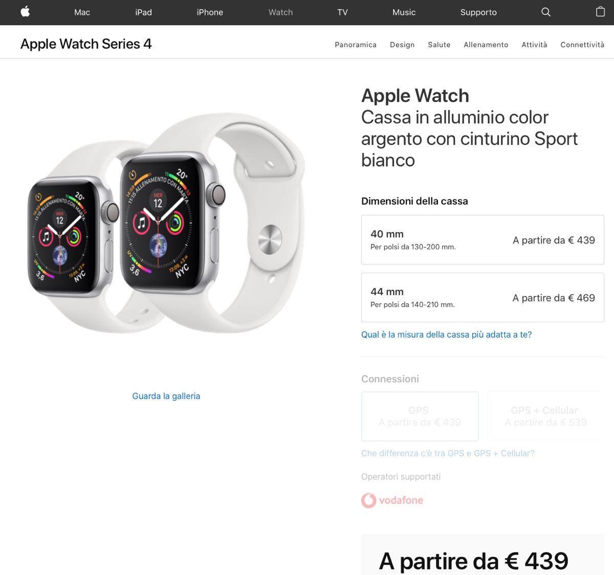 Apple Store disponibile, iniziano i preordini iPhone XS, XS Max e Apple Watch 4