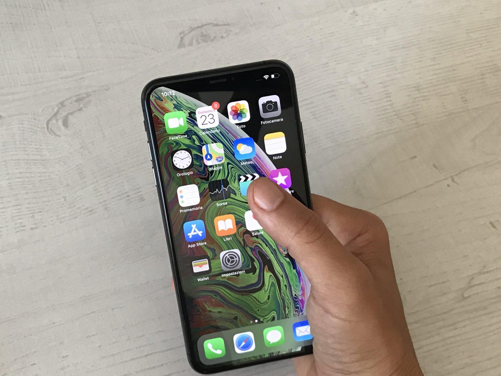 iPhone XS Max, primo contatto