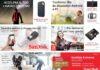 I Sandisk Days di Amazon mettono in sconto memorie Flash, SSD, e chiavette USB, iPhone e Wireless
