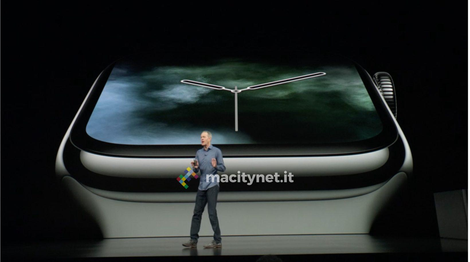 sfondi apple watch 4 foto keynote apple 12 settembre