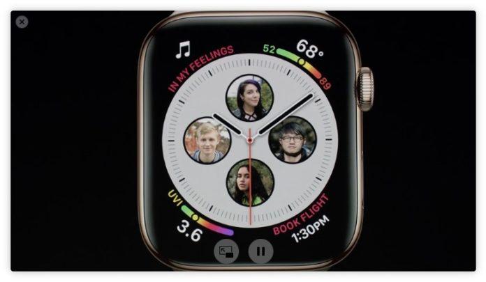 Ecco Apple Watch 4, il più grande di sempre
