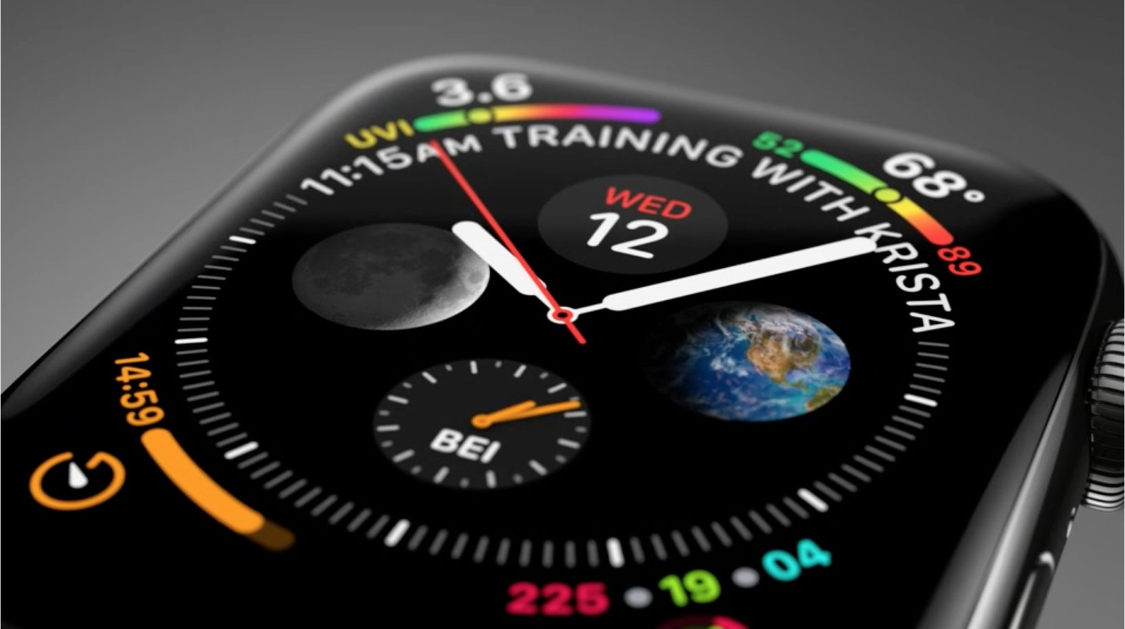 Apple Watch 4 cambio ora - foto il nuovo quadrante attività può bloccarsi con il cambio dell'ora