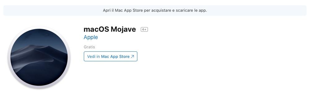 Come installare macOS Mojave