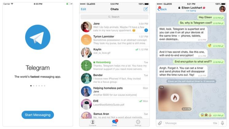Telegram iOS si basa ora su Swift, maggiore velocità e notifiche migliorate