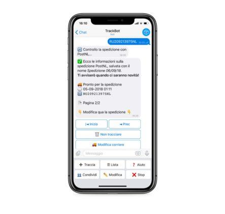 Trackbot, monitorare le spedizioni con Telegram è ancora più facile