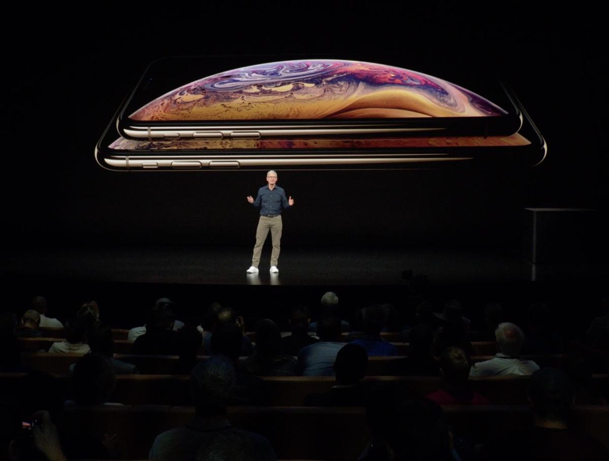 video Keynote Apple . presentazione iPhone Xs, Xs Max e Apple Watch 4