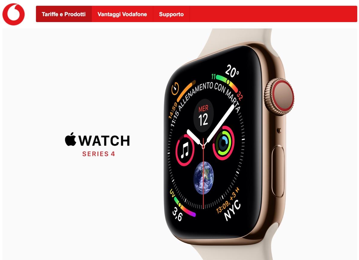 Apple Watch LTE in Italia costa 5 euro al mese