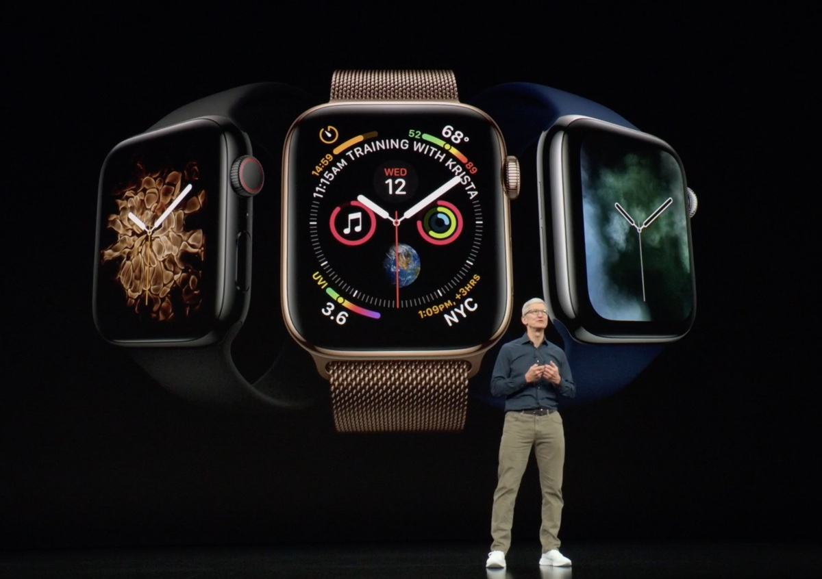 video keynote Apple è disponibile su YouTube foto tim cook apple watch 4