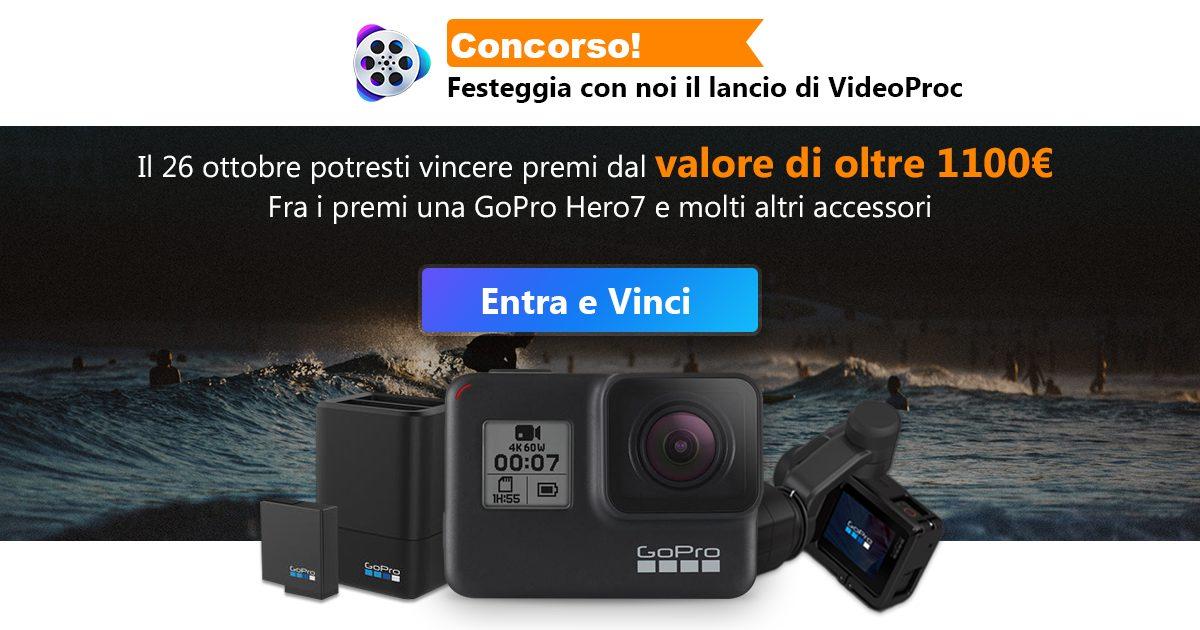 VideoProc: la suite definitiva per video 4K GoPro, smartphone e droni ?