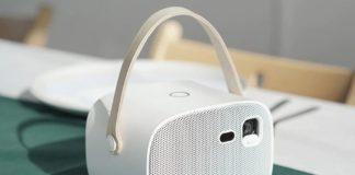 Wanbo S5 HD, il proiettore portatile Wi-Fi da 200 ANSI Lumens elegante e retrò