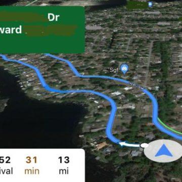 Ecco come appare Google Maps su CarPlay