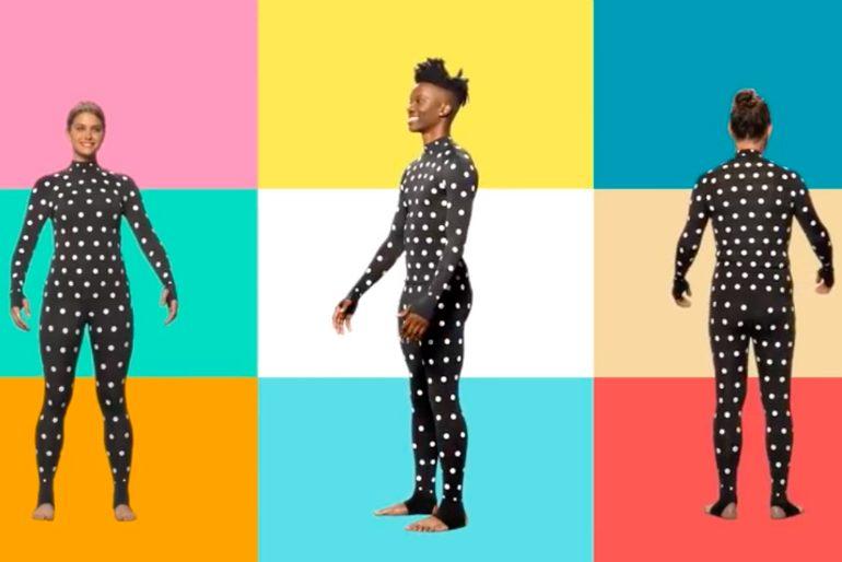 046c3e2f7042 Ecco la tuta ZOZO, che permetterà di prendere le misure del vostro corpo in  maniera impeccabile, così da poter ordinare vestiti online che calzeranno  come ...