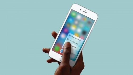 Come disattivare 3D touch su iPhone