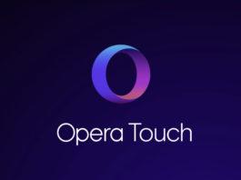 Opera Touch disponibile in App Store, pogettato per gli iPhone senz tasto Home
