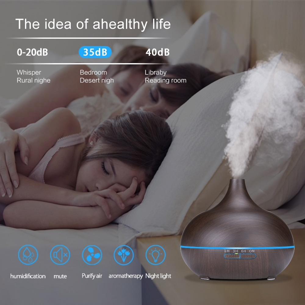 Solo 28 euro il diffusore di aromi da 550ml che si controlla da smartphone