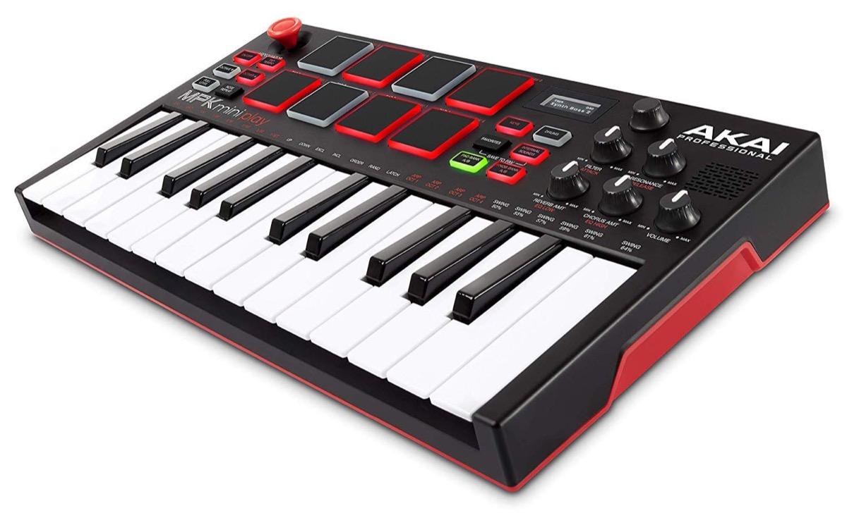 Akai MPK Mini Play - foto la tastiera per creare musica ovunque