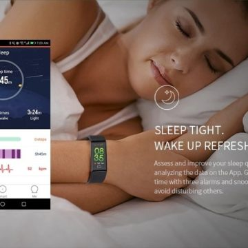 Alfawise B7 Pro, lo smartband che controlla il cuore h24