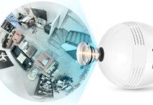 Lampadina E27 con telecamera di sorveglianza incorporata scontata a soli 21 euro
