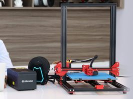 Alfawise U20, la stampante 3D con schermo touch