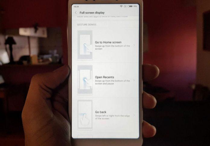 Huawei, gesture a tutto schermo (quasi) per tutti