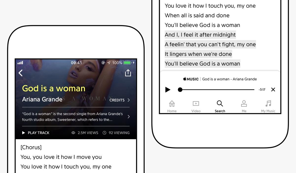 Apple e Genius insieme per i testi delle canzoni e integrazione Apple Music
