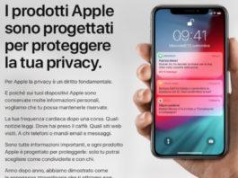 Sempre più attenzione alla Privacy: Apple rinnova il sito dedicato alle misure di sicurezza