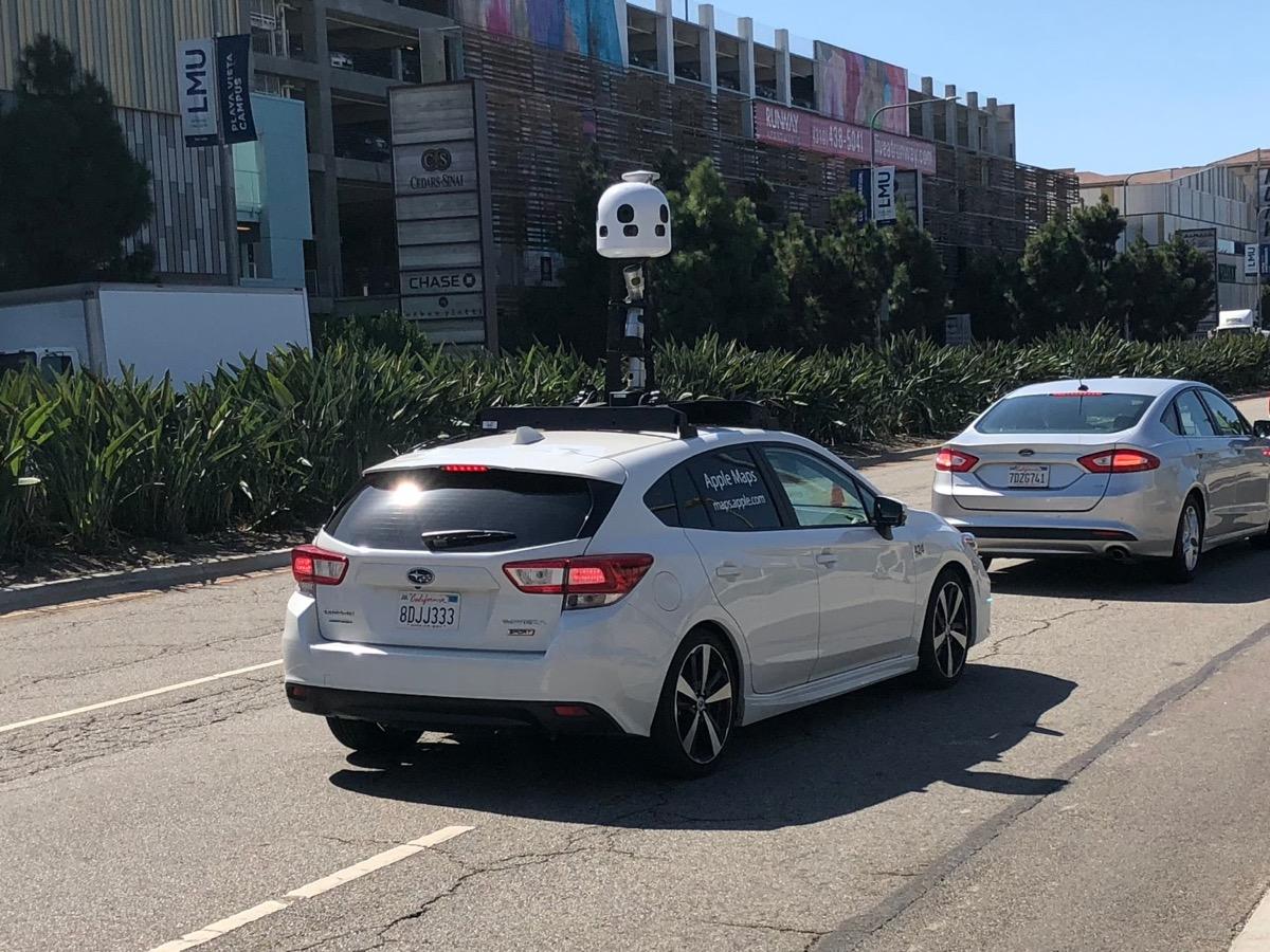 auto Apple Mappe per mappare le città - foto veicolo avvistato a Los Angeles