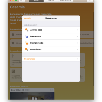 Come funziona Casa su Mac: Homekit e Siri con macOS 10.14 Mojave