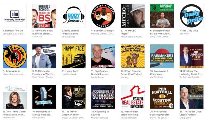Apple corregge la classifica dei podcast manipolata dalle click farm