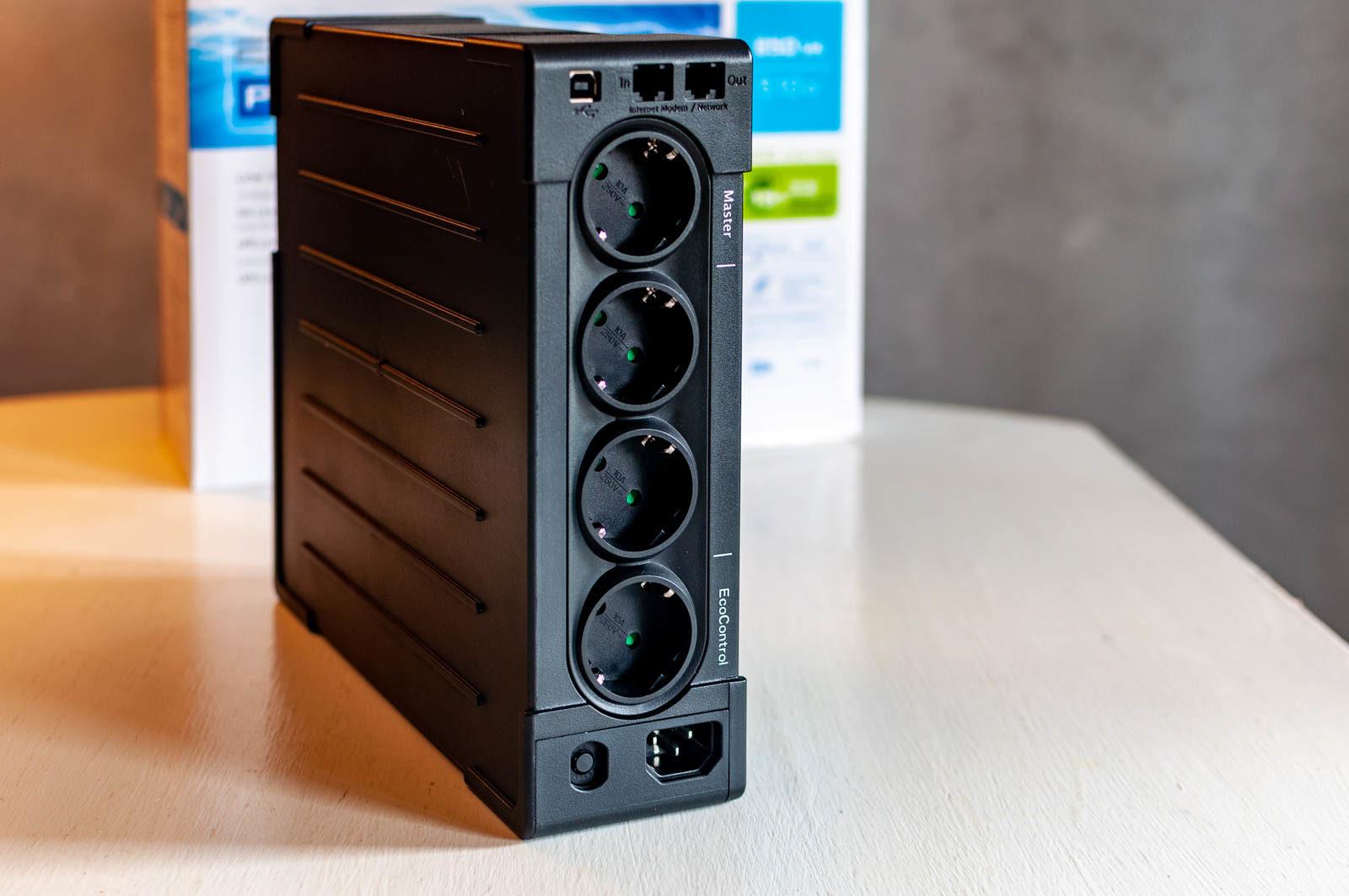 L'UPS EATON Ellipse Pro 850; qui la nostra recensione