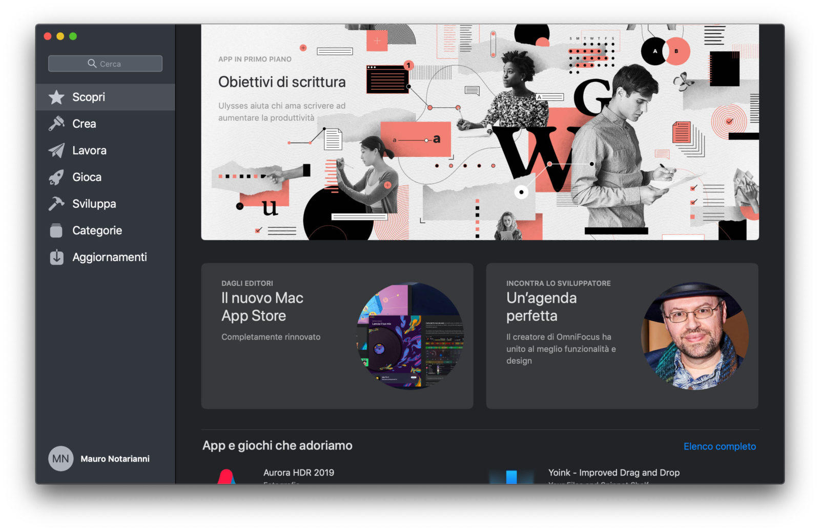 bundle di app mac - foto Mac App Store di macOS Mojave è stato ridisegnato e offre contenuti editoriali che semplificano la ricerca delle app per Mac