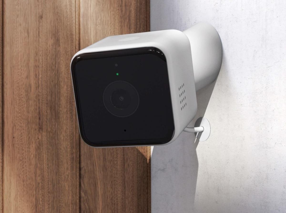 Plafoniera Da Esterno Con Telecamera : Hive view outdoor è la telecamera da esterni che completa il
