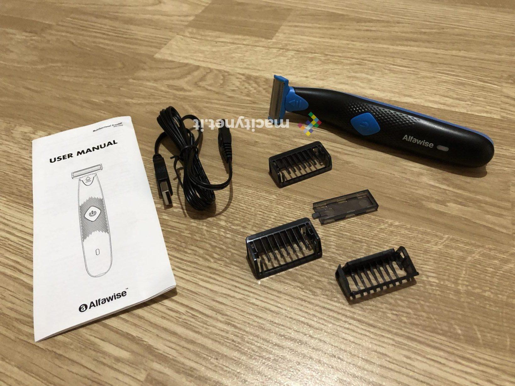 Recensione Alfawise RHC5000, il rasoio elettrico più economico al mondo